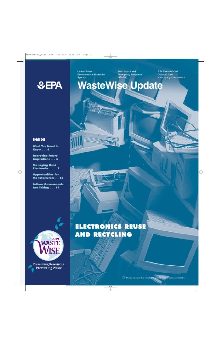 United States              Solid Waste and                            EPA530-N-00-007                         Environmenta...
