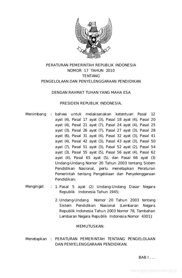 Www.pendis.kemenag.go.id file dokumen_pp_no17th2010