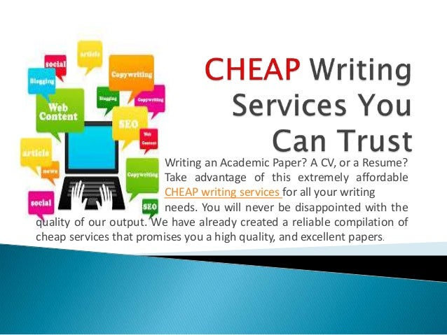 Cheap academic writing services in india