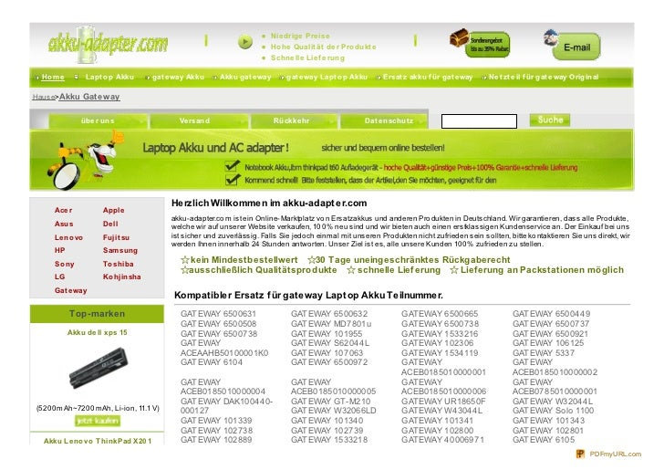 Www.akku adapter.com-gateway.html
