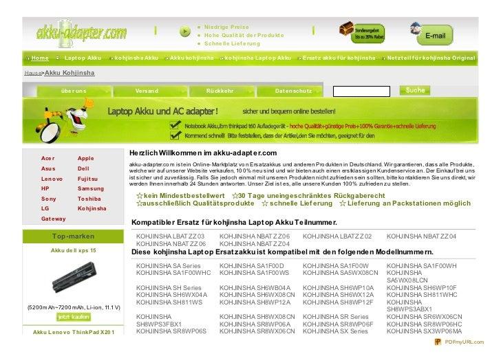 Www.akku adapter.com-kohjinsha.html