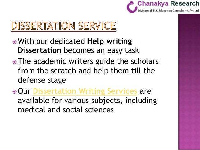 Phd dissertation help phd
