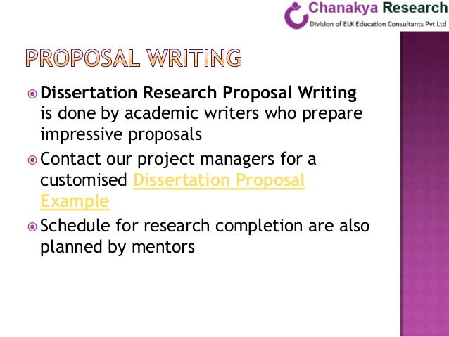 Proposal And Dissertation Help Between