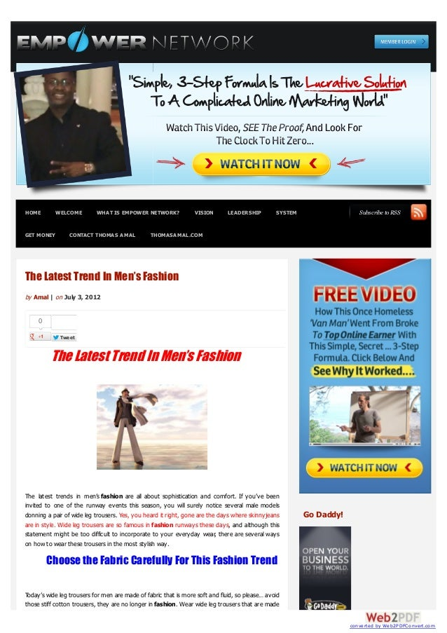 HOME        WELCOME        WHAT IS EMPOWER NETWORK?              VISION       LEADERSHIP        SYSTEM                  Su...