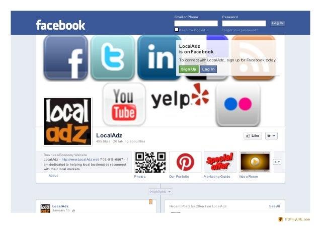 facebook.com localadz