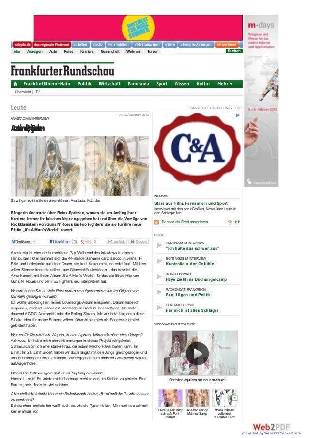 Frankfurt/Rhein-Main   Politik   Wirtschaft   Panorama   Sport   Wissen   Kultur   MehrLeuteAac e,eecensa ßiynn  a Ti  tiw...