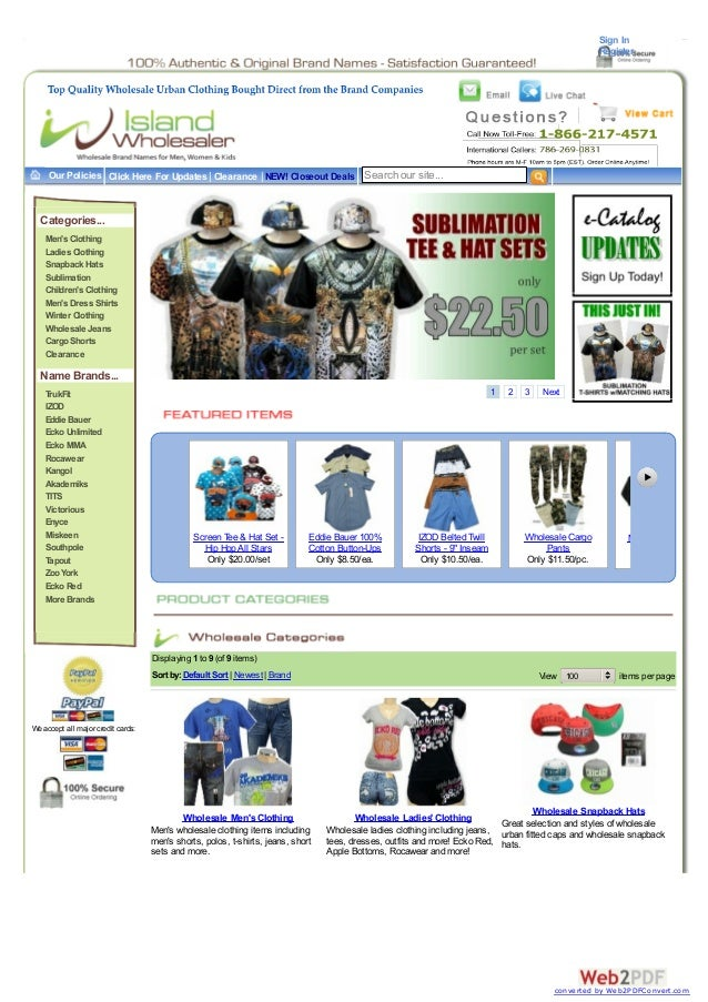 Sign In Register  Our Policies Click Here For Updates | Clearance | NEW! Closeout Deals Search our site...  Categories... ...