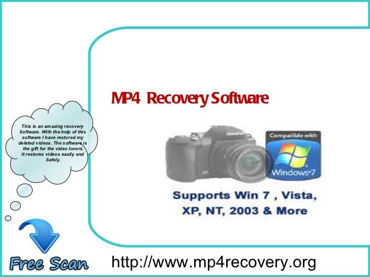 How To Recover Corrupted MP4 videos?