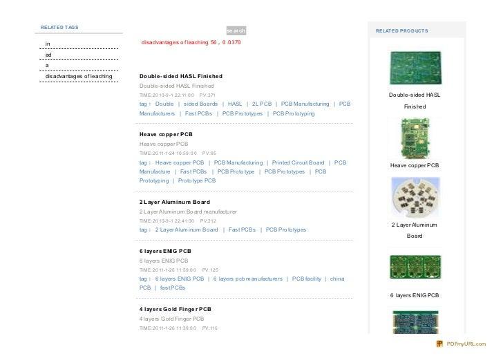 Www.raypcb.com  tag-disadvantagesofleaching.html