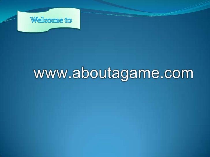 Www aboutagame.com