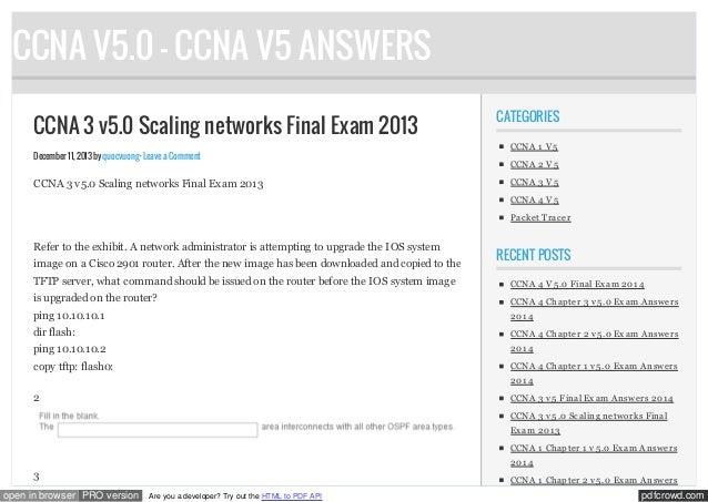 Www ccnav5 net_ccna_3_v5_0_scaling_networks_final_exam_2013