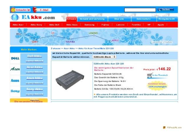 Zuhause Versand und Lief erung Über uns Dat enschut z Rückgaberecht Akku Acer Akku Sony Akku Dell Akku Asus Samsung Fujit ...