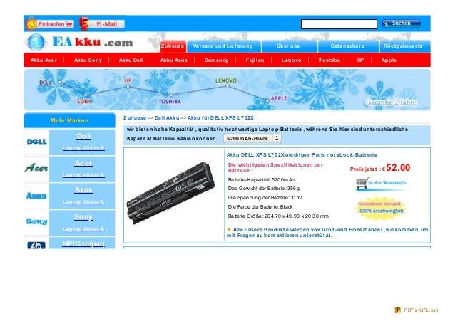 Zuhause Versand und Lief erung Über uns Dat enschut z RückgaberechtAkku Acer Akku Sony Akku Dell Akku Asus Samsung Fujit s...
