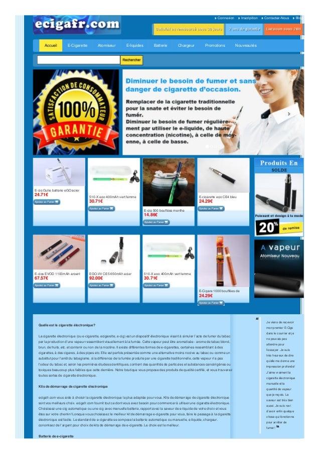 Connexion Inscripition Contactez-Nous Blog Accueil E-cig Gulie batterie eGO acier inoxydable24.71€ 510-X ego 400mAh vert f...