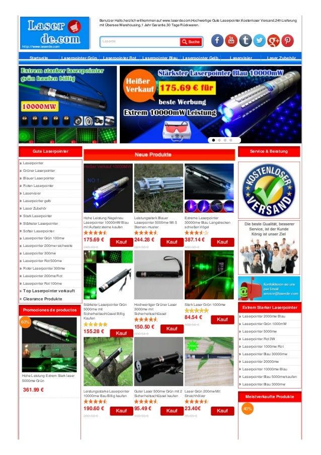 Benutzer Hallo,herzlich willkommen auf www.laserde.com,Hochwertige Gute Laserpointer,Kostenloser Versand,24h Lieferung mit...