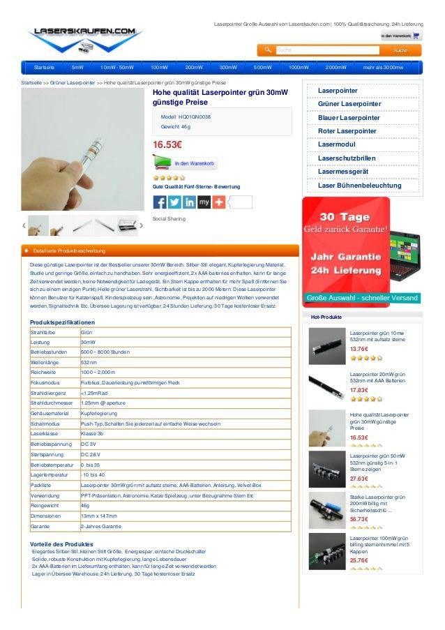 Laserpointer Große Auswahl von Laserskaufen.com | 100% Qualitätssicherung, 24h Lieferung Suche Startseite 5mW 10mW - 50mW ...