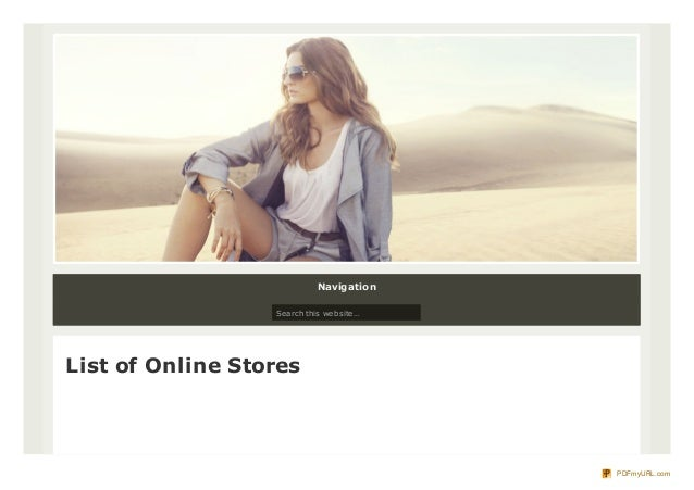 List of online shopping sites in europe for List of online shopping websites