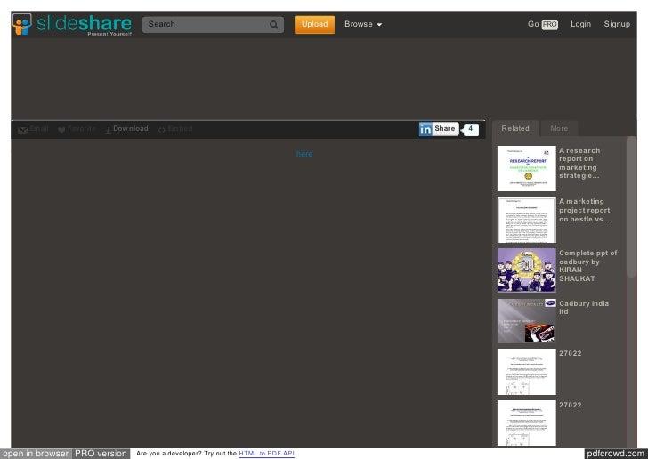 Www slideshare net_hemanthcrpatna_a_project_report_on_analys