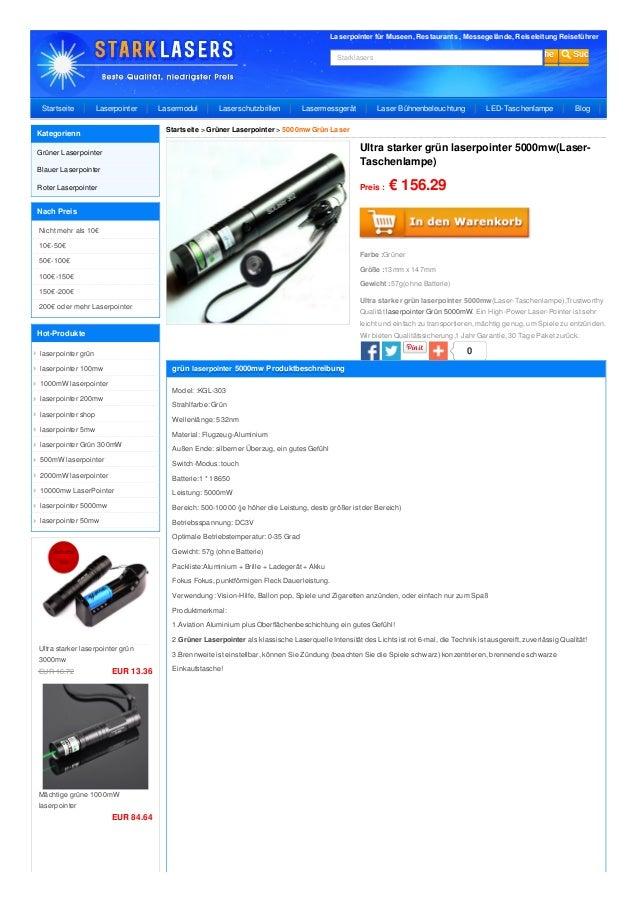 Laserpointer für Museen, Restaurants , Messegelände, Reiseleitung Reiseführer Starklasers 0 Preis : € 156.29 Farbe :Grüner...