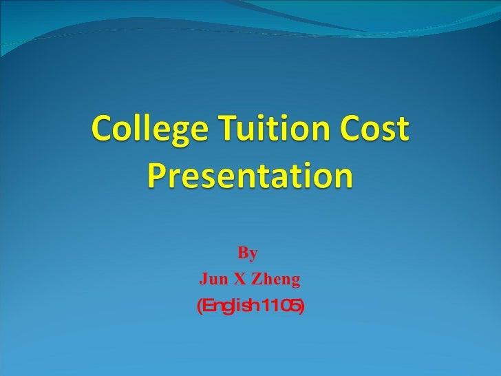 College Tuition Cost Presentation