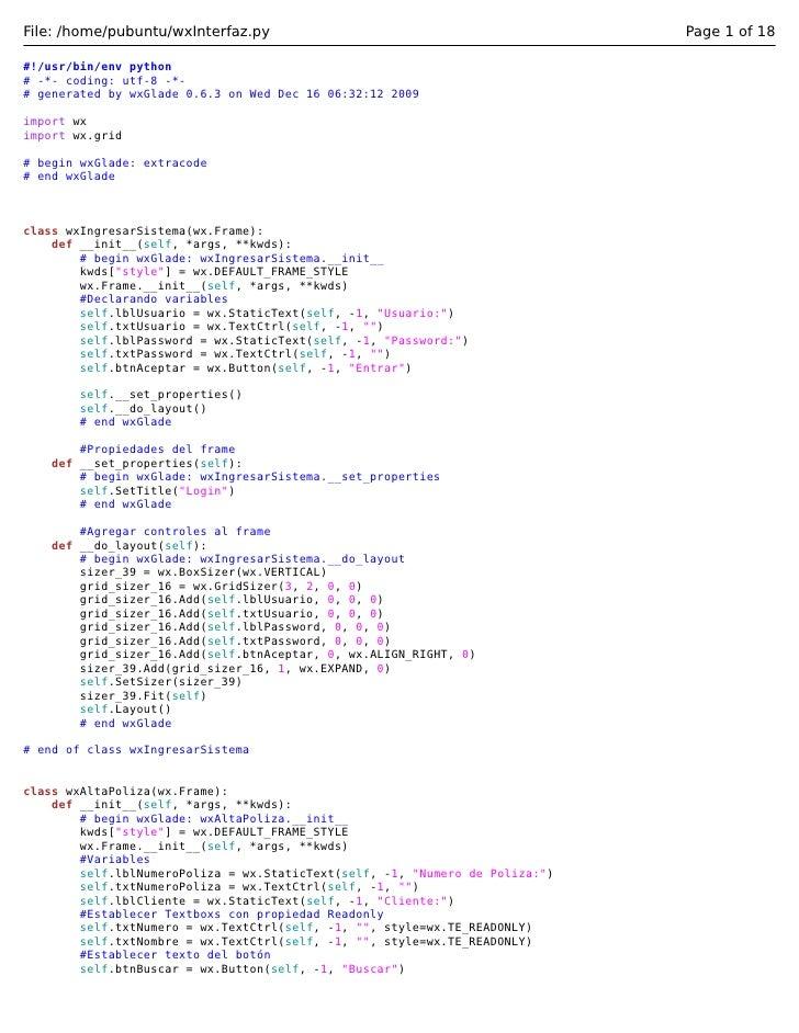 File: /home/pubuntu/wxInterfaz.py                                             Page 1 of 18#!/usr/bin/env python# -*- codin...