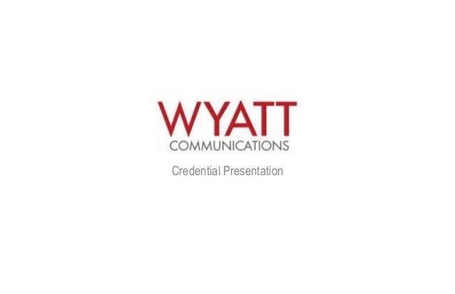 Wyatt - Campaigns