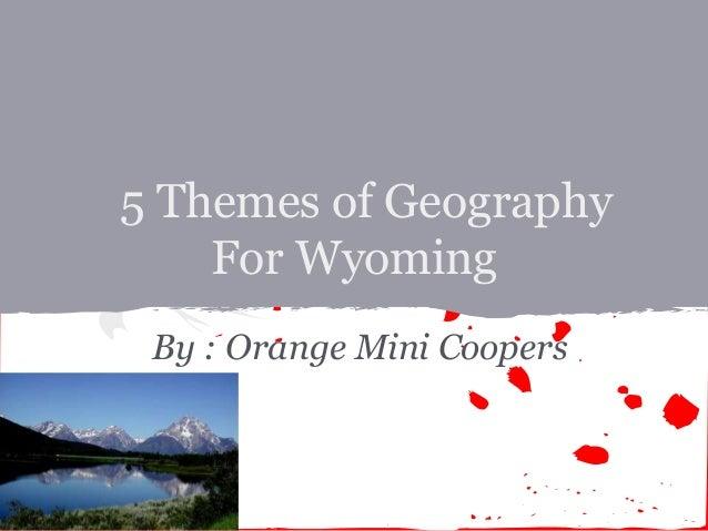 Wyoming Orange Mini Coopers