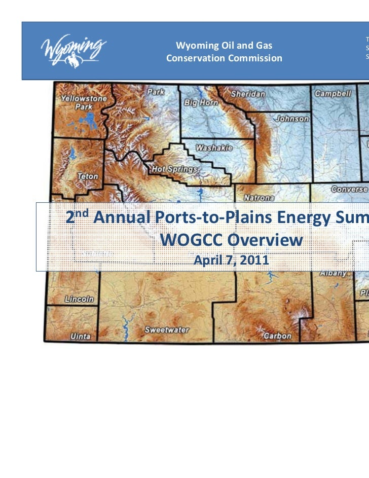 Thomas E. Doll              Wyoming Oil and Gas     State Oil and Gas            Conservation Commission   Supervisor2nd A...