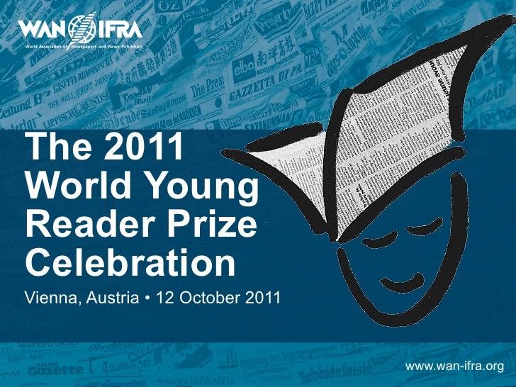 World Young Reader Prize 2011 Celebration