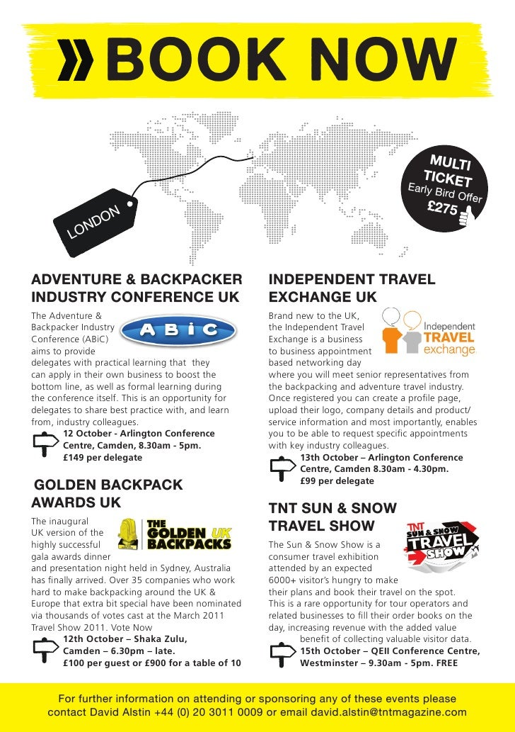 BTN - Independent Travel Awards - Golden Backpacks