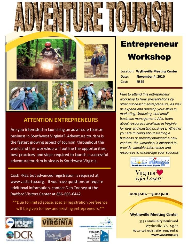 Entrepreneur                                                                  Workshop                                    ...