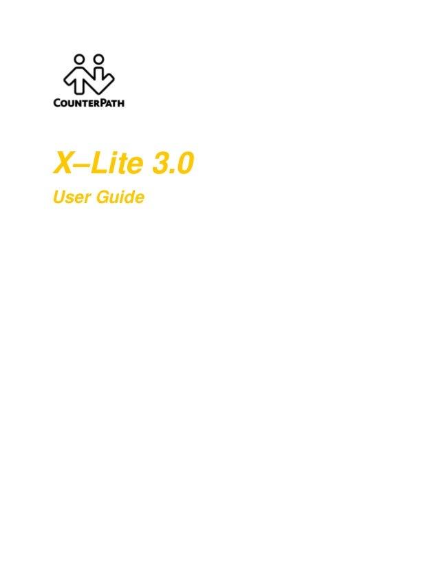 X lite3.0 user-guide (1)