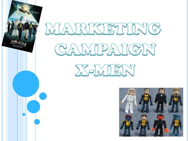 marketing campaign for X-Men