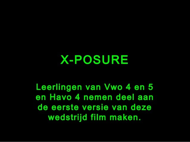 X posure Expose your talent 2004