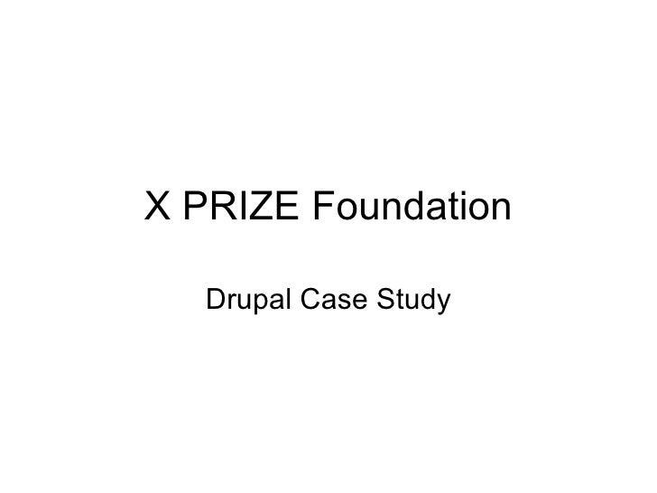 X PRIZE Foundation Drupal Case Study
