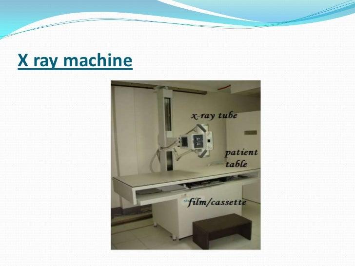 new xray machine