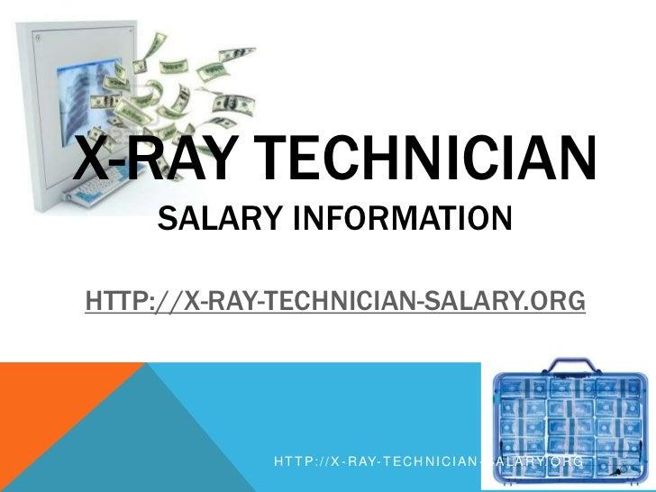 X Ray Technician Salary