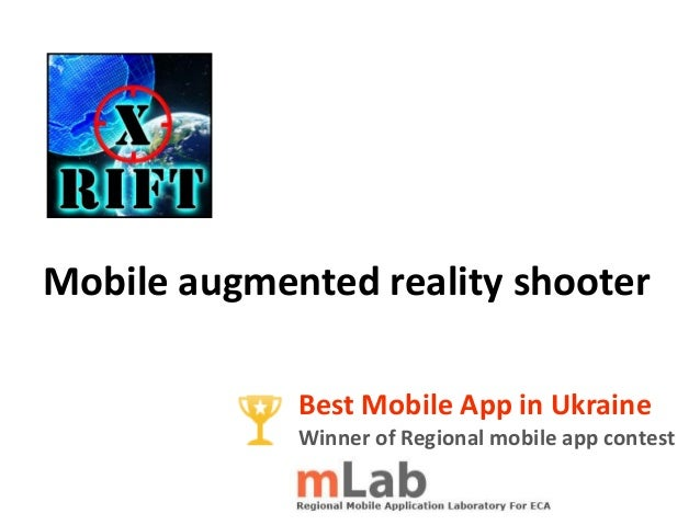 Mobile augmented reality shooterBest Mobile App in UkraineWinner of Regional mobile app contest