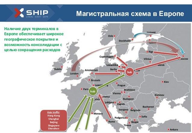 схема в Европе Lozienika