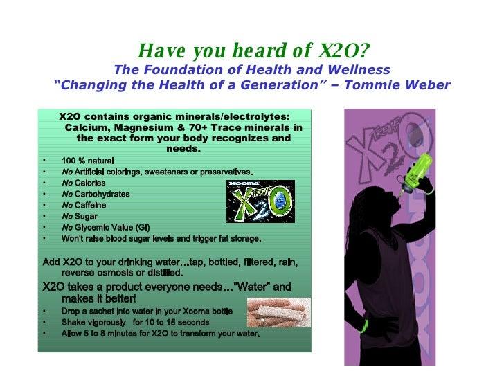 X2O New Presentation