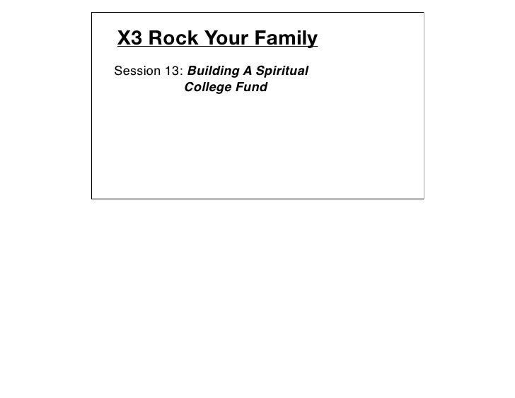 X3 family session 13