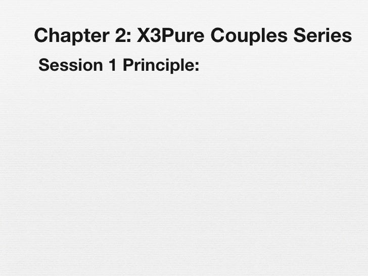 X3 pure couples chapter 2