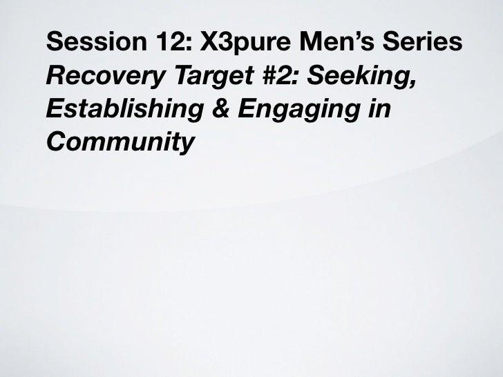 X3 pure men's chapt 12a