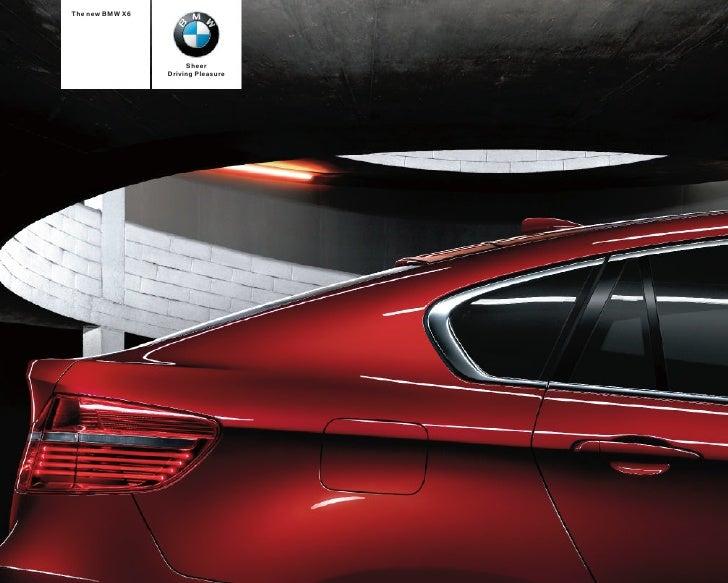 BMW X6 Catalogue