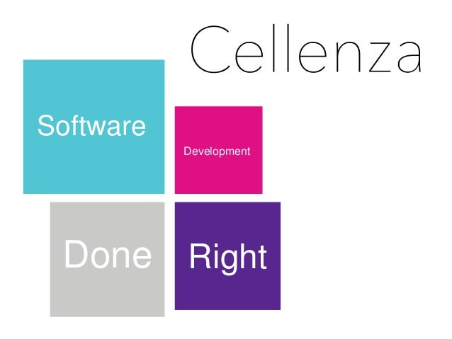 Software  Development  Done Right