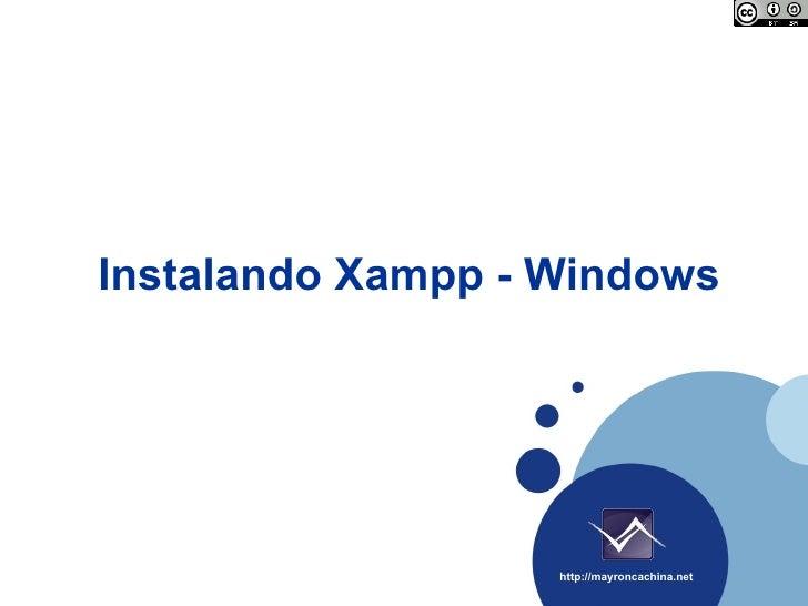 Instalando Xampp - Windows