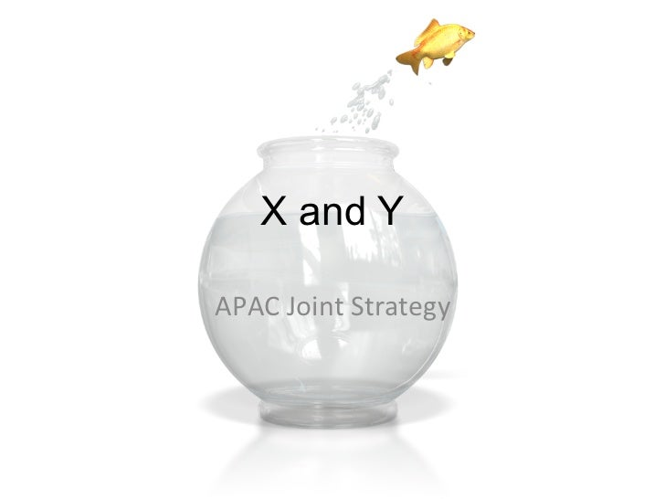 X and YAPAC	  Joint	  Strategy
