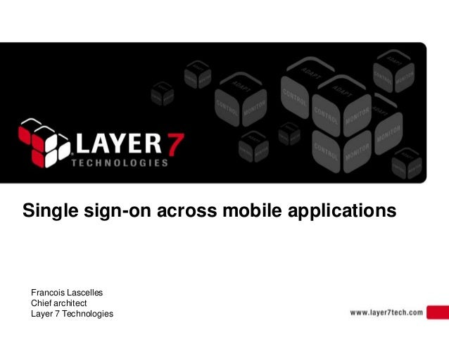 Single sign-on Across Mobile Applications from RSAConference