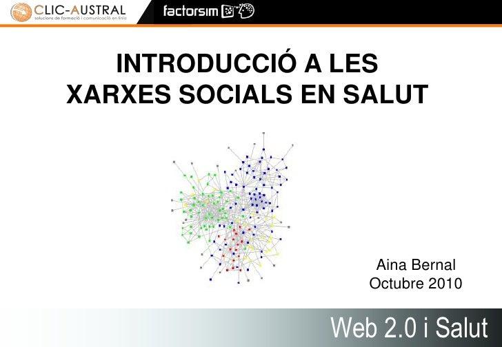 Xarxes socials i Salut