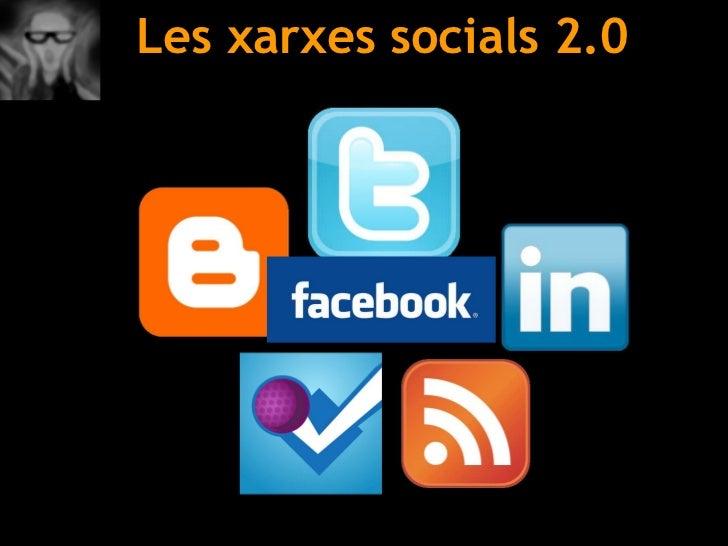 Les xarxes socials 2.0